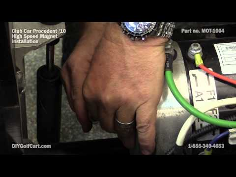 Club Car Precedent High Speed Motor Magnet | How To Install On Golf Cart