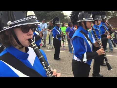Mandeville High School Band Mardi Gras 2016