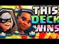 THIS is MY FAVORITE deck for GLOGAL TOURNAMENT // Clash Royale