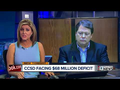 Clark County School District facing $68 million deficit