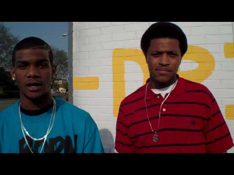 2 of 4 BLOCC BOY ENT. & Jiggy outside The Grind in Salina, KS  04/17/10