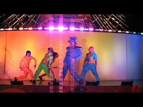 GLOWFEST- Brazil- MC and Orange Drummer performed ...