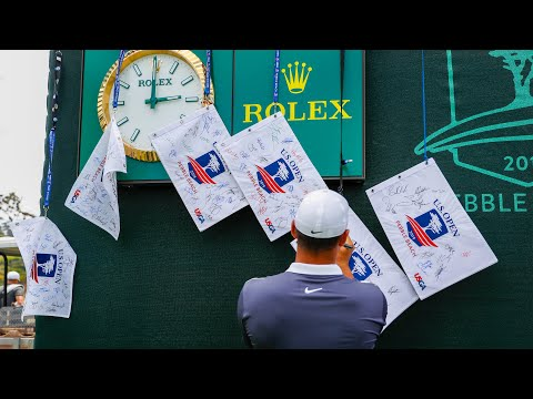 U.S. Open Live: Wednesday Morning At Pebble Beach