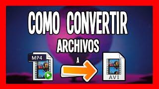 Gambar cover Como Convertir Archivos MP4 a AVI Facil y Rapido😱😱[CJGAMER]✅✅
