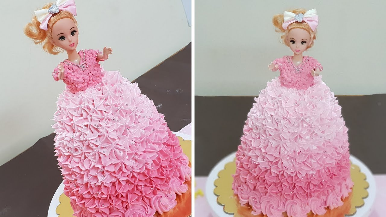 Barbie Doll Cake Birthday Cake Girls Birthday Cake Decoration In