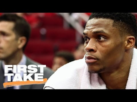 Stephen A. Says Thunder Losing Helps Westbrook's MVP Case | First Take | April 17, 2017