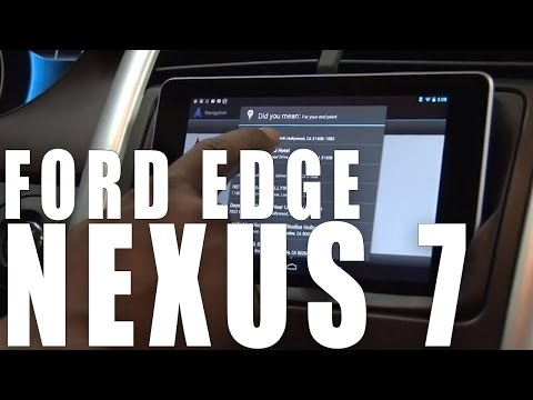 Ford Edge Nexus 7 Dash Install