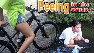 While Peeing She's Thinking Snake Under Water | SY Talent Entertainment