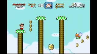 [HD] Super Mario World - Butter Bridge 1 + Butter Bridge 2 [TAS]
