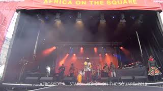 Afrospot Allstars - LIVE at Africa on the Square 2018