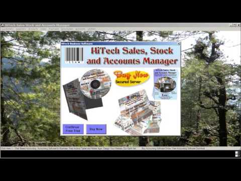 HiTech Accounting and Billing Software Release 2017