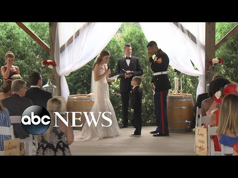 Video of military wedding goes viral