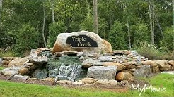 Triple Creek Neighborhood in Piedmont, SC. Greenville County New Construction Community.