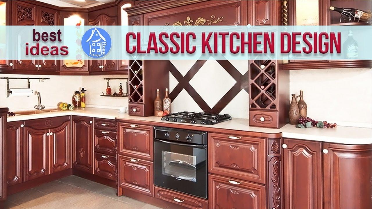 Interior Design Classic Style Kitchen Modern Kitchens 2017