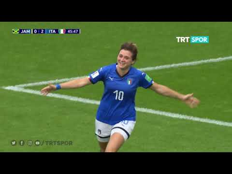 FIFA Kadınlar Dünya Kupası / Jamaika - İtalya Özet