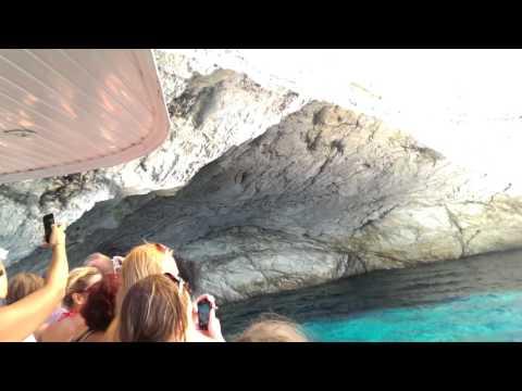 Cave Lefkada -  Ionic Sea Greece / Pestera Papanikolis