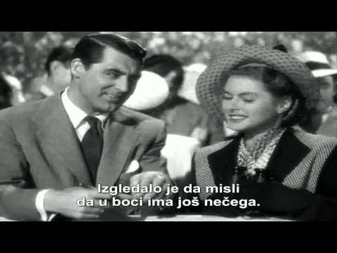 Ozloglasena - Notorious (1946) ceo film sa prevodom, Alfred Hitchcock HD
