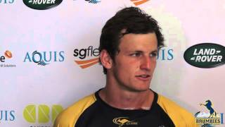 James Dargaville talks to the media during 2016 Super Rugby Pre-Season | Super Rugby Video
