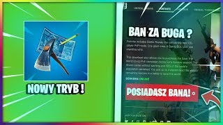 About the NEW MODE (PLAYGROUND) + BAN FOR QUICK KICK BUGA-Fortnite Battle Royale