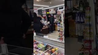 名古屋西区のコンビニで客が店員に商品投げつけ土下座強要 thumbnail