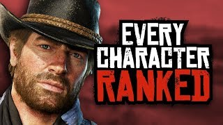Red Dead Redemption 2: Ranking Every Character From Worst To Best