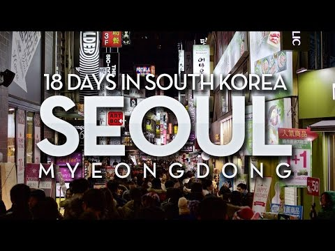 Korea Trip | Seoul: Christmas Eve in Myeongdong