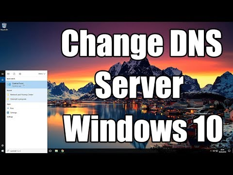 How To Change DNS Server In Windows 10