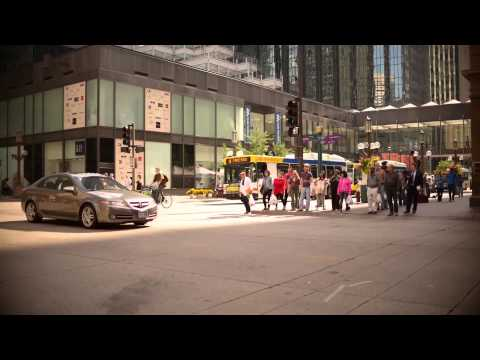 Time-lapse at Nicollet Mall & 7th Street S. in Minneapolis, Minnesota