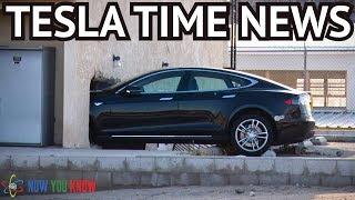 Tesla Time News - Sudden Unintended Acceleration!?