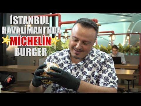 Bu Burger Için İstanbul Havalimanı'na Gidilir | The Michelen Star Burger