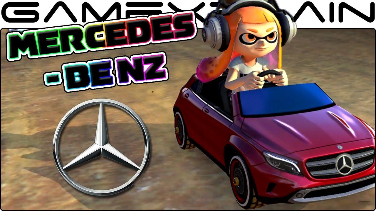 all mercedes-benz dlc karts in mario kart 8 deluxe (1080p60 gameplay