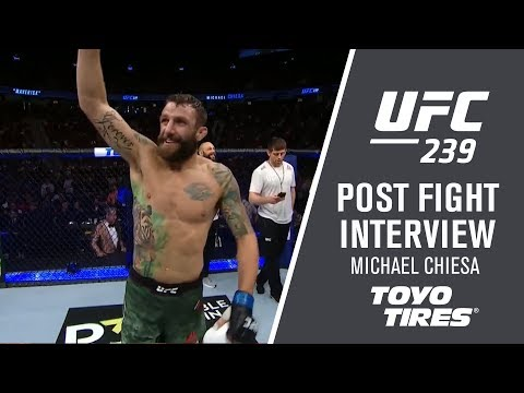 """UFC 239: Michael Chiesa - """"I'm Ready, I Don't Care Who You Are"""""""