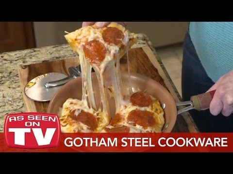 Gotham Steel Cookware: Cooking With Non-Stick Ti_Ceramic Technology