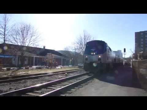Amtrak in Charlottesville Virginia