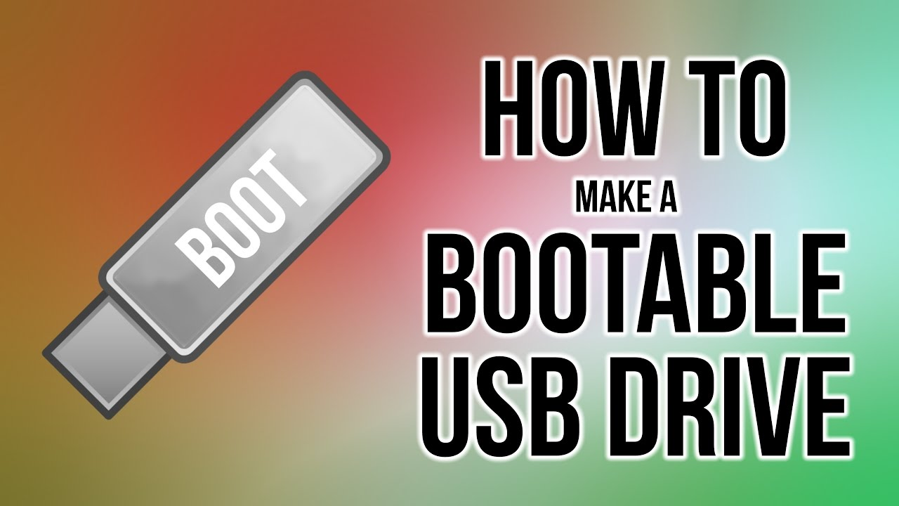 how to create win7 bootable usb