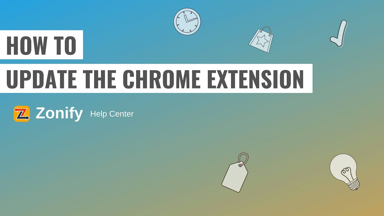 How to update Importify / Expressfy / Zonify Chrome Extension?
