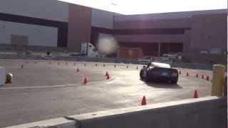 ZR1 Corvette on Mini track | SEMA 2012