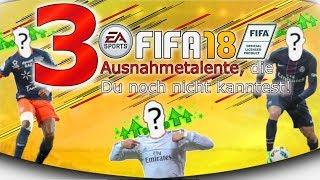 3 unbekannte Fifa18 Top Talente, die Du unbedingt in Deinem Karrieremodus brauchst!