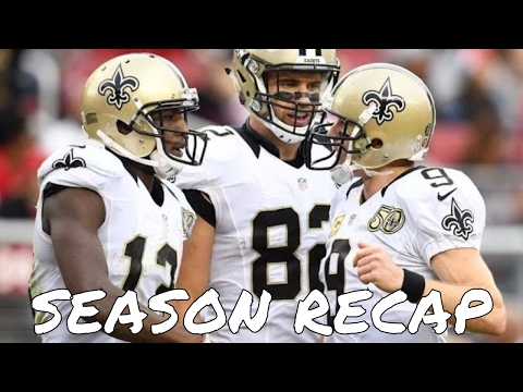 New Orleans Saints 2016 NFL Season Recap + 2017 Free Agency and Draft Preview