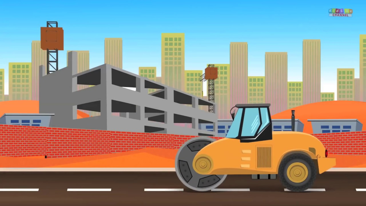 Construction Vehicles | kids Videos | Learn Vehicles name - YouTube