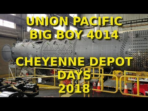 Union Pacific Big Boy 4014 - Cheyenne Depot Days 2018
