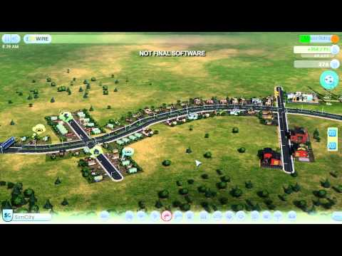 SimCity (2013) Gameplay Footage