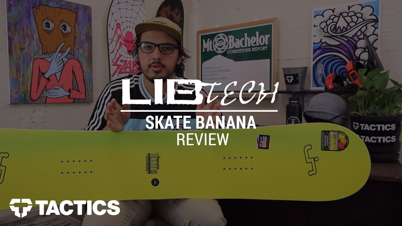 Lib tech skate banana 10 year retro 2017 snowboard review - tactics.com