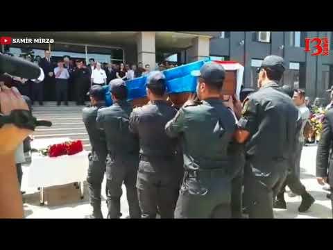 Gəncədə öldürülən polislərin