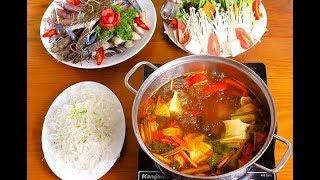 Tin Đc Ko -  Cách nấu lẩu hải sản ngon, đơn giản