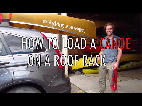 canoe straps roof rack