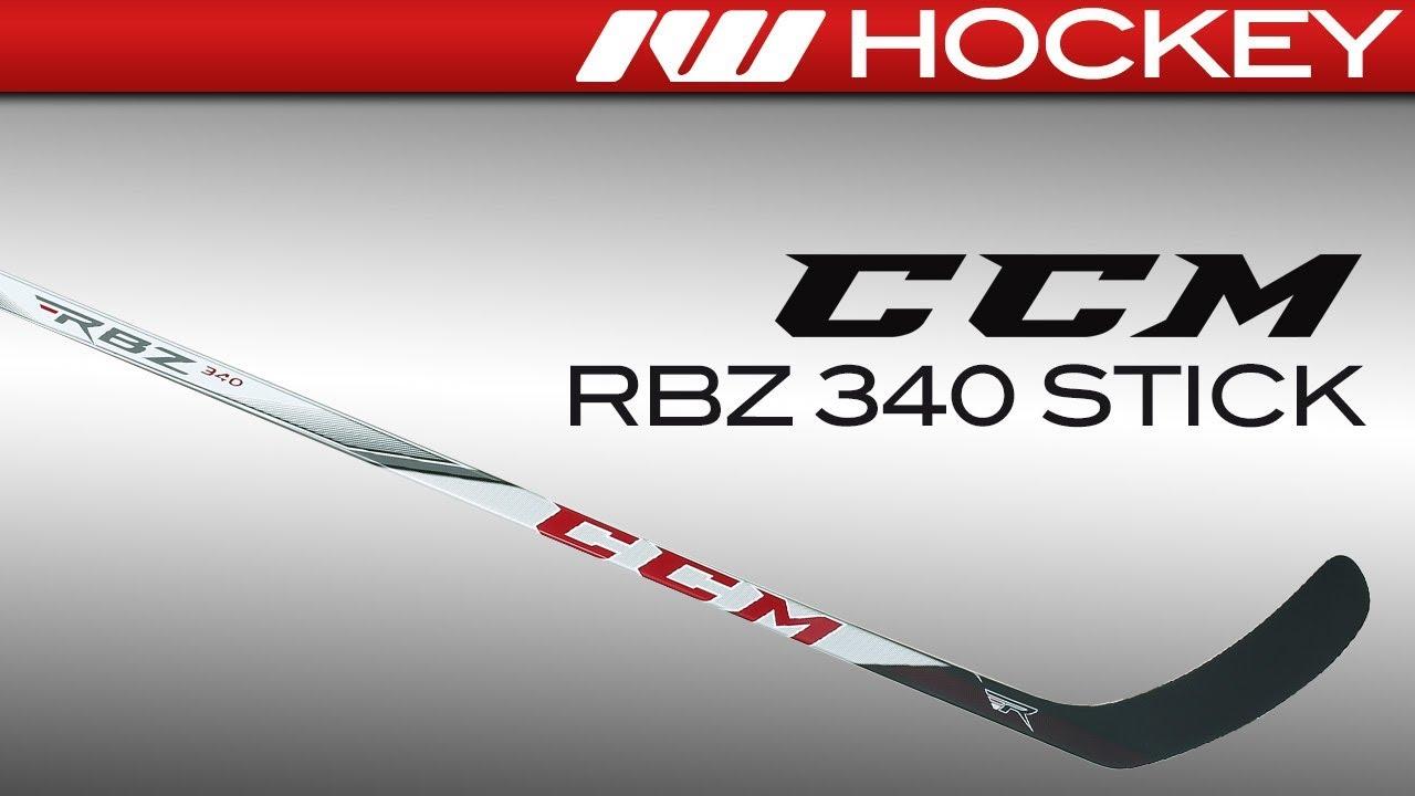 2e7e57bc0e5 CCM RBZ 340 Stick Review - YouTube