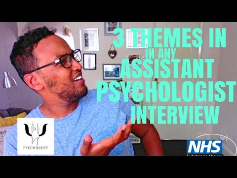 3 Themes In Any Assistant Psychologist Interview