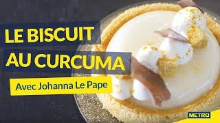 [LES TUTOS METRO] Le biscuit au curcuma, avec Johanna Le Pape 👩🍳