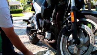 buell oil change 1